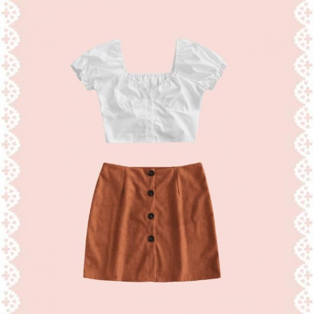 a cute outfit for summer vocation