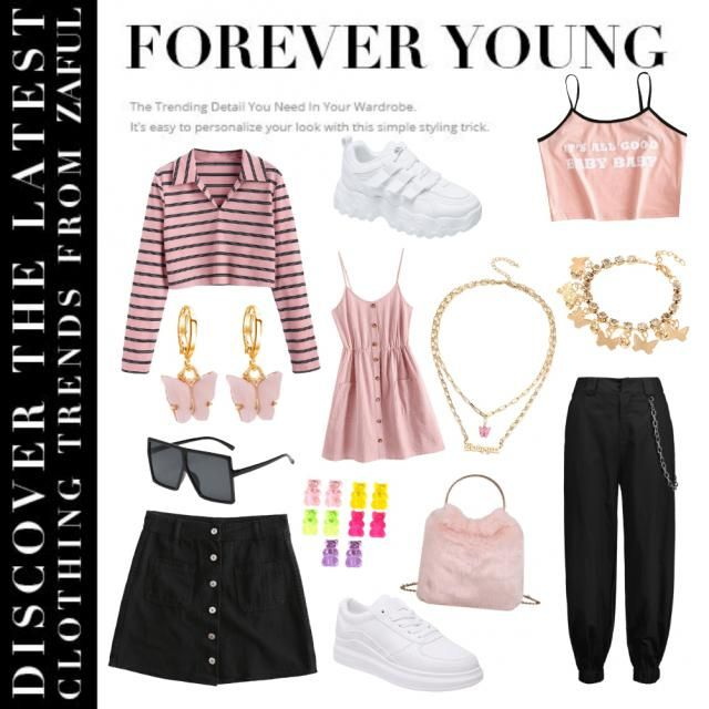 Pretty and pink casual and chic