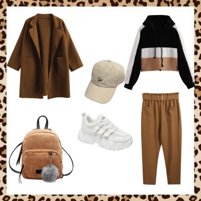 Lovely brown tones with sporty touch.