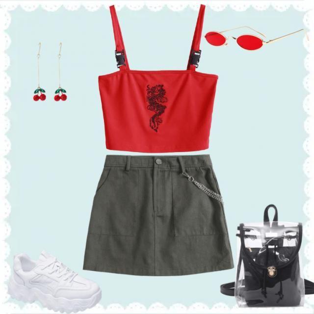 Cute fit?❤️