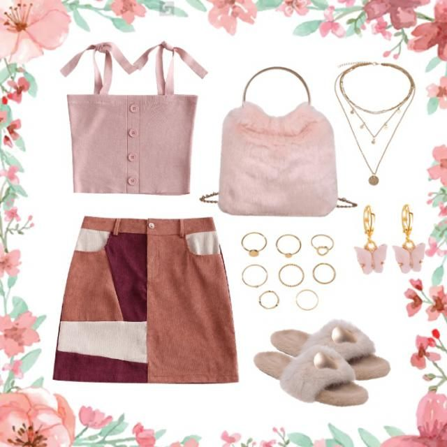 Pink outfit ready for spring and summer 🌸🌸