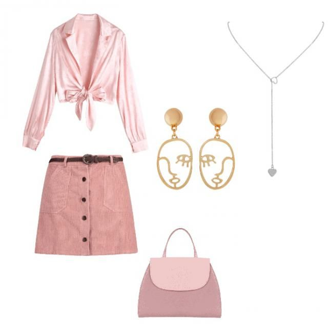 Cute summer pink outfit to spark up your day!