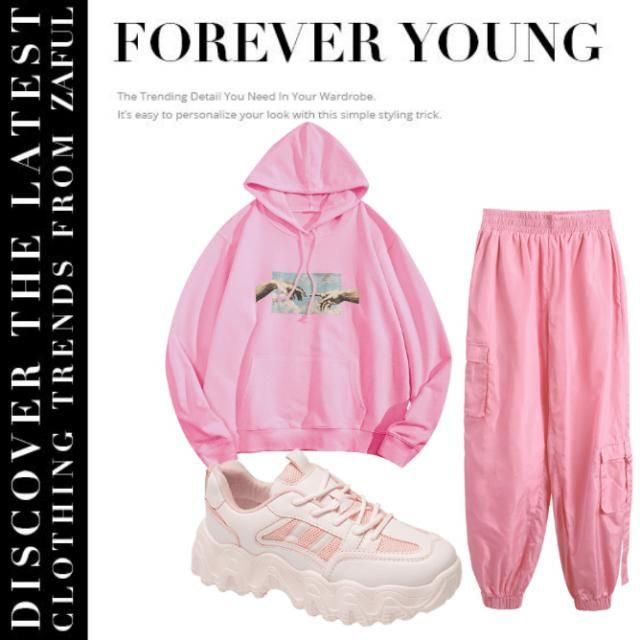 Love pink?Match up your clothes with your favourite colour!