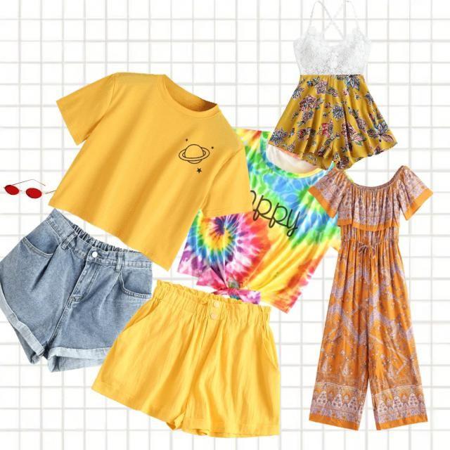 yellow summer aesthetic