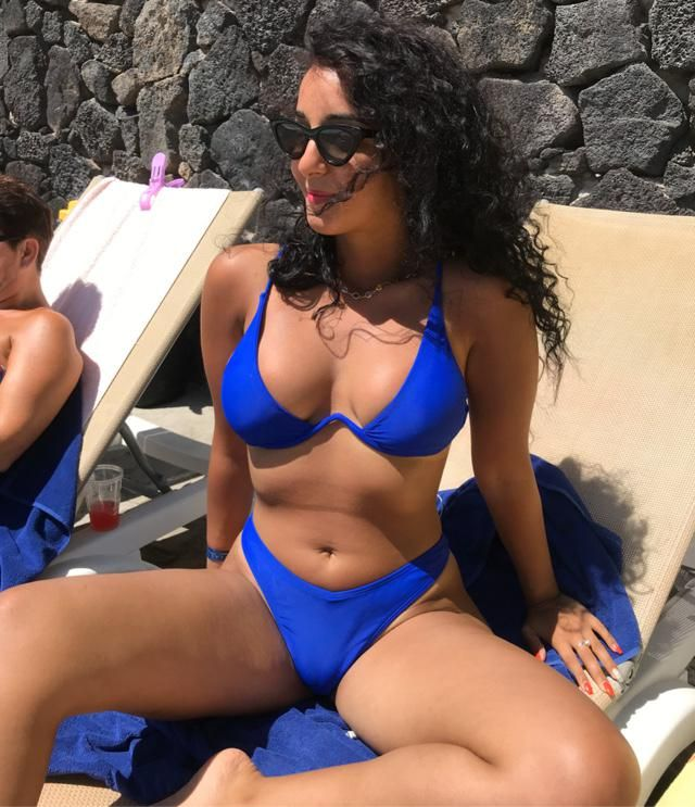 Blue bikini 💙 size M