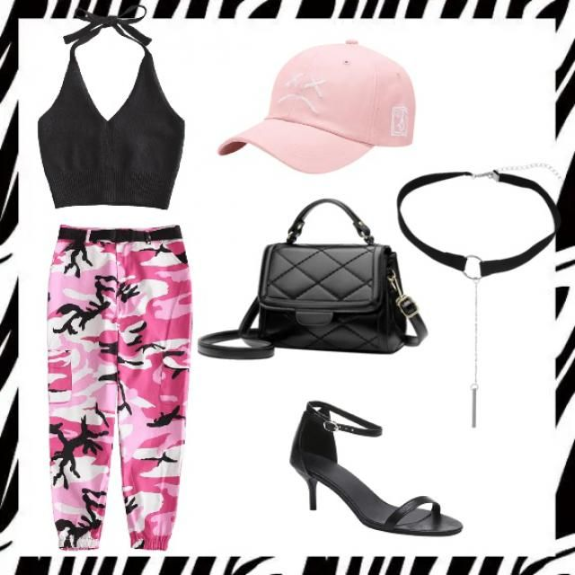 💖black and pink💖