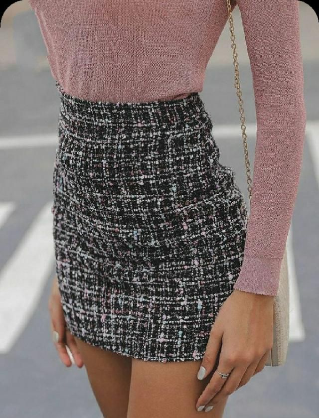 This tweed skirt is A.M.A.Z.I.N.G.