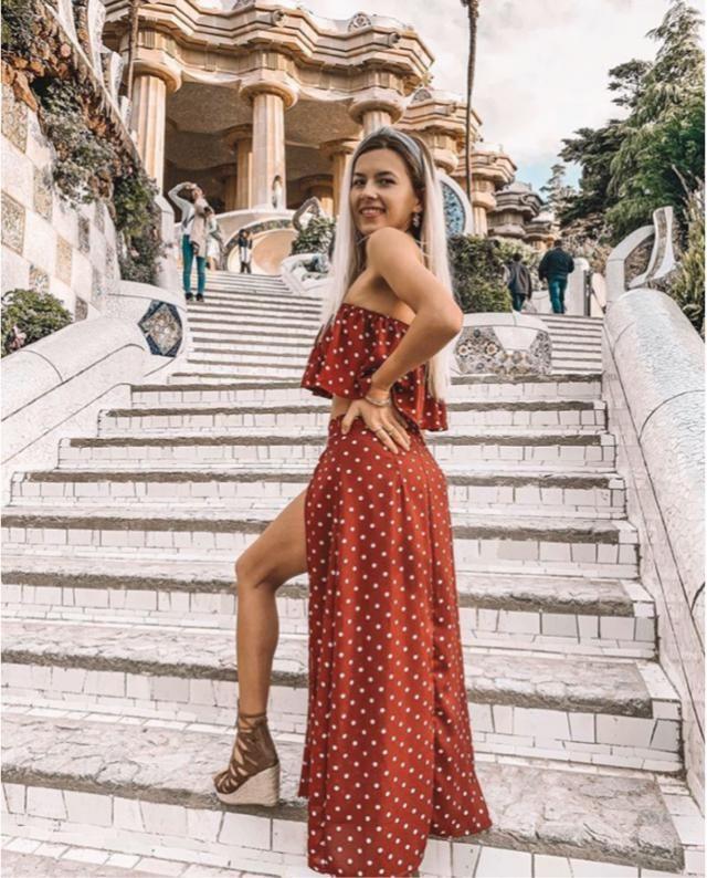 Adoró este outfit! Va perfecto con ese pedazo sandalias de plataforma! Es muy veraniego y muy elegante!       …