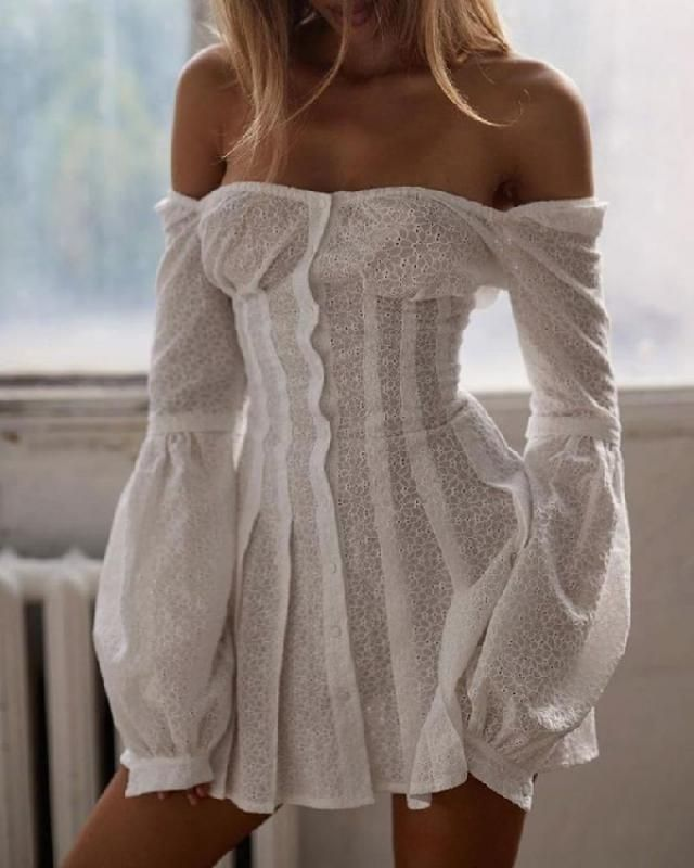 Keep your closet fresh with •off the shoulder dresses• | | |