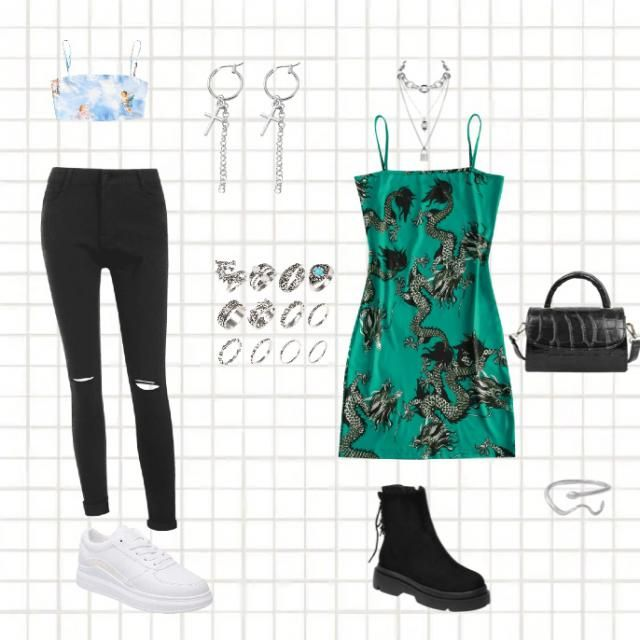 cute and trendy outfits😎🤩🐉🧚♀️