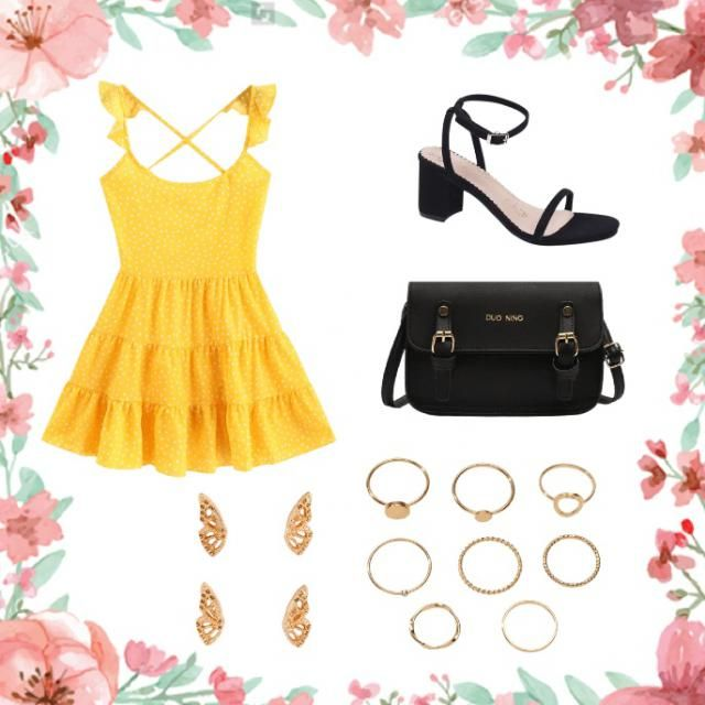 Cute casual outfit for Easter dinner with your family or friends🐣