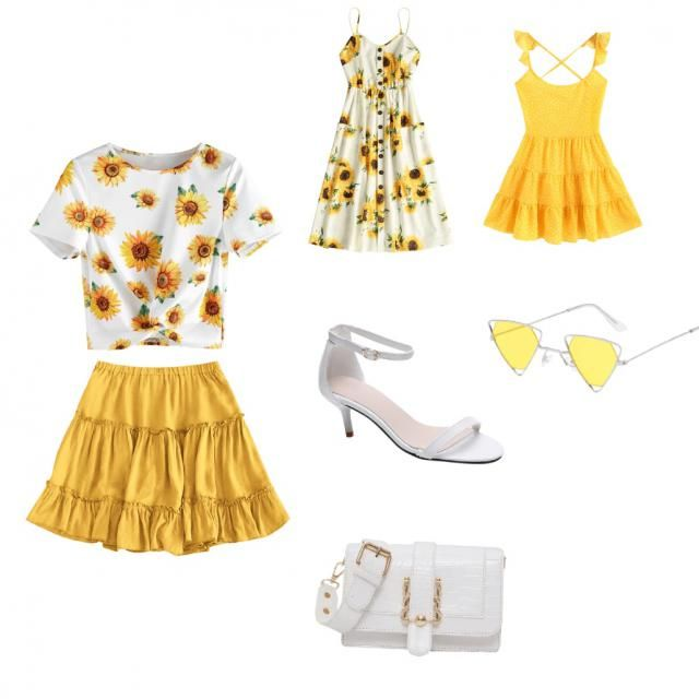 Fun and bright casual summer outfits