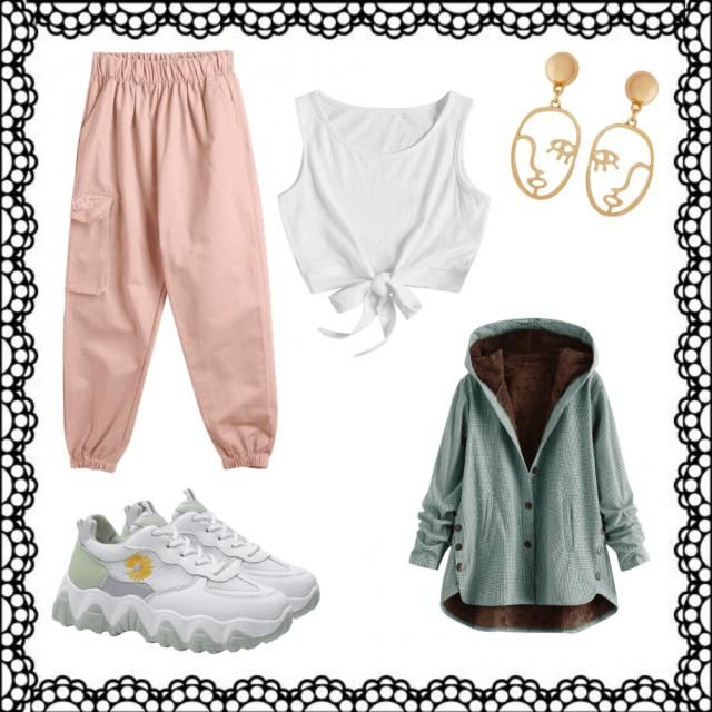Simple and casual outfit for a beautiful day out at the balcony or at the garden!