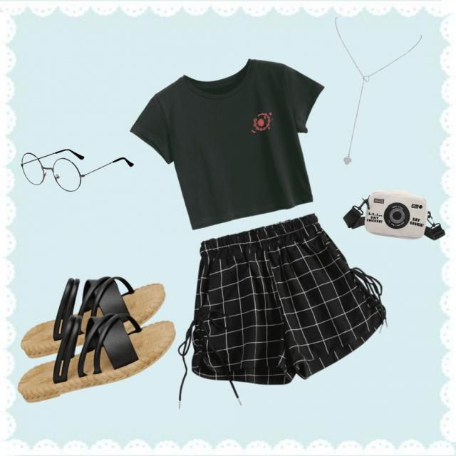A outfit for a hangout or just a chill occasion