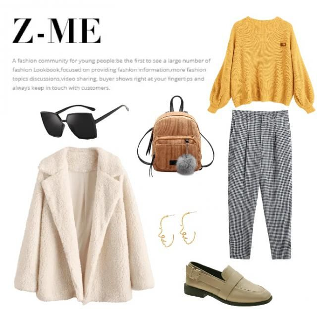 Easy casual daily day outfit - professional - casual - urban - off-white