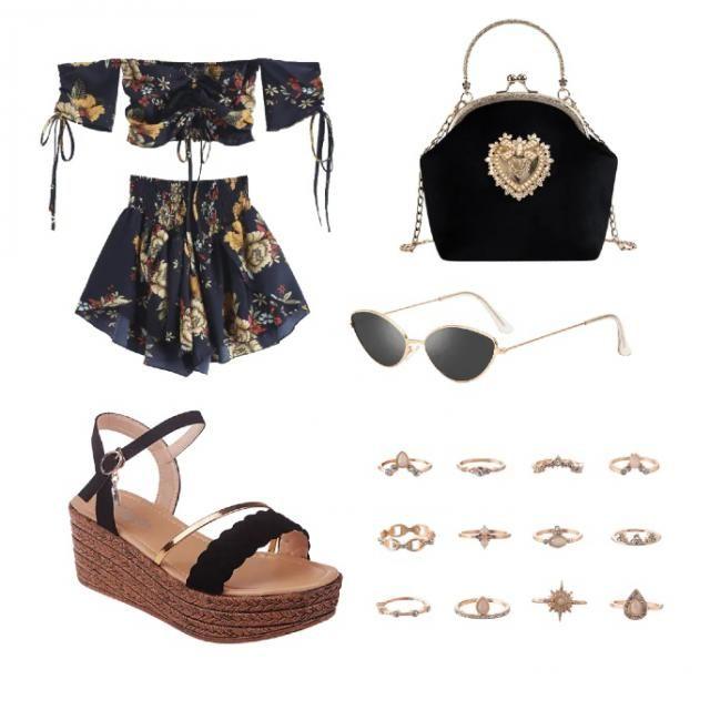 Black items 🔮🤩💕🌈
