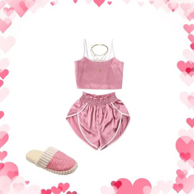 I love to stay comfortable during this pandemic but I also love to stay cute so I chose this beauty set to rock💕