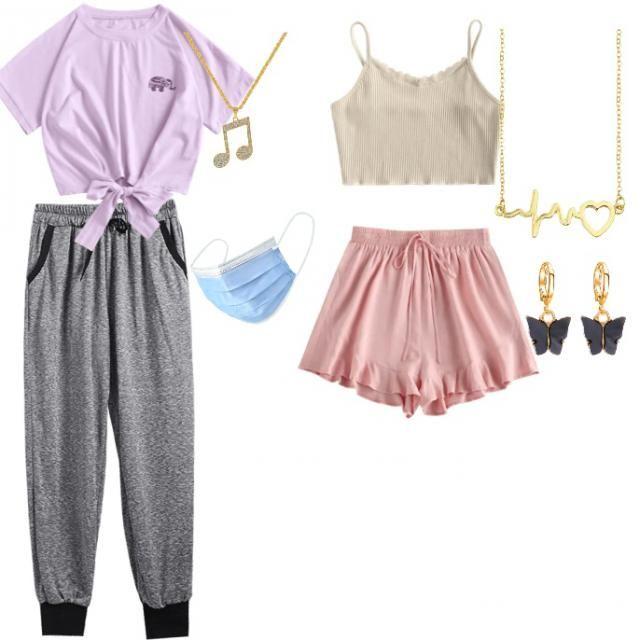 Quarantine outfits