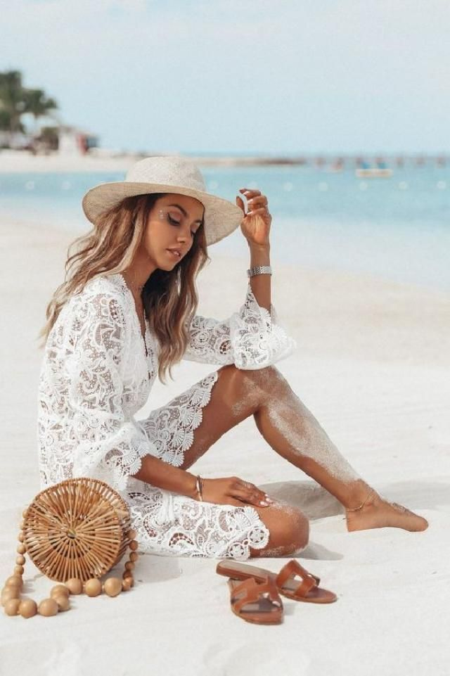 We are always looking for that perfect beach cover-up or beach dress to slip on over our bikini or swimsuit. Whi…