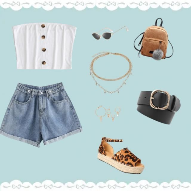 A simple summer chic outfit that is perfect for just about everything !