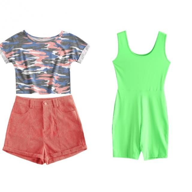 the 1st outfit I&;ll wear this like to a party or sum. The 2nd outfit I&;ll wear this to somewhere we have to look pret…