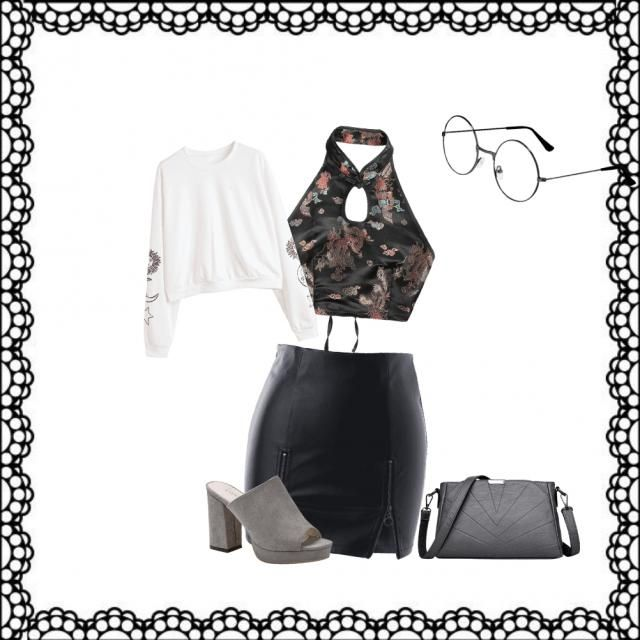 Casual Outing (with white top)/ fancy outing (with Chinese style top)