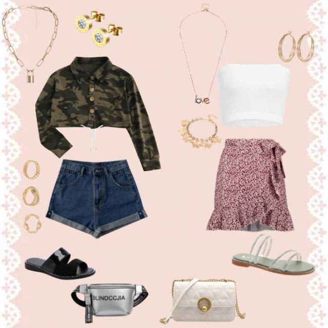 2 cute outfits