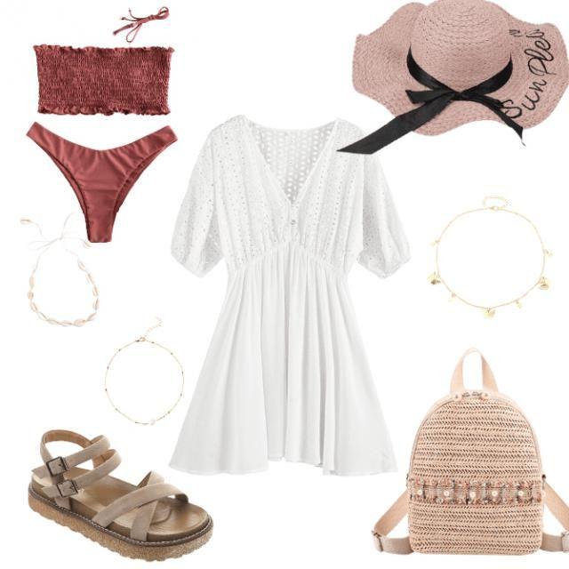 Cute beach outfit 🏖