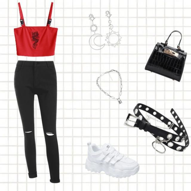 A night out baddie chic outfit