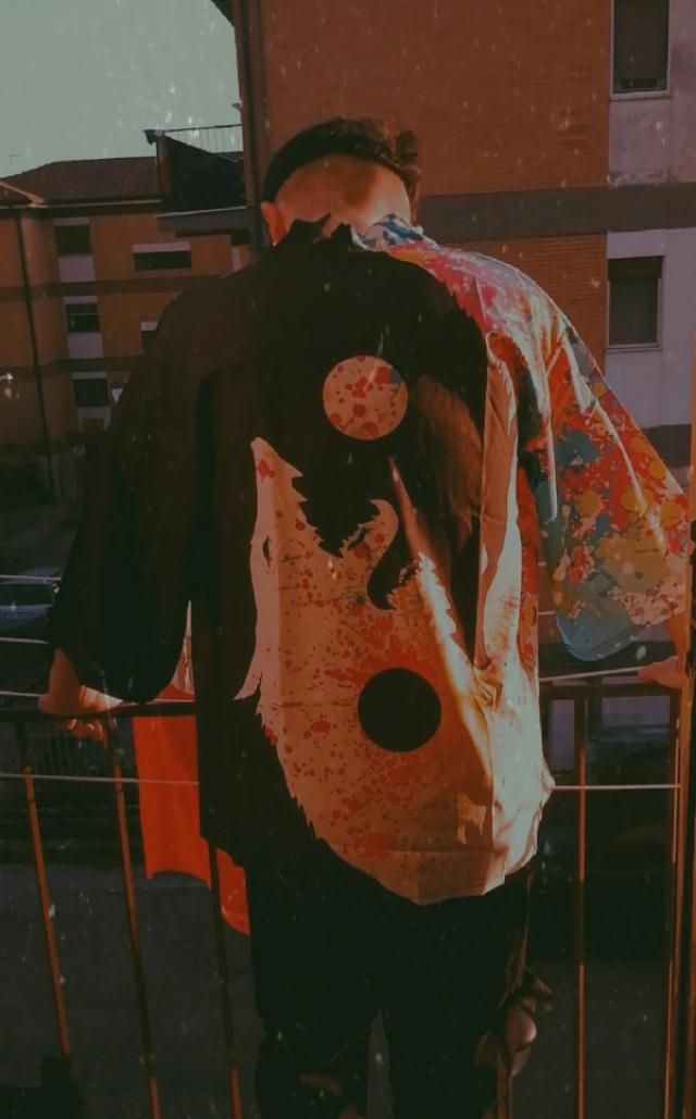 •Kimono Zaful •trasgressivo  •ideale per le giornate di mare.