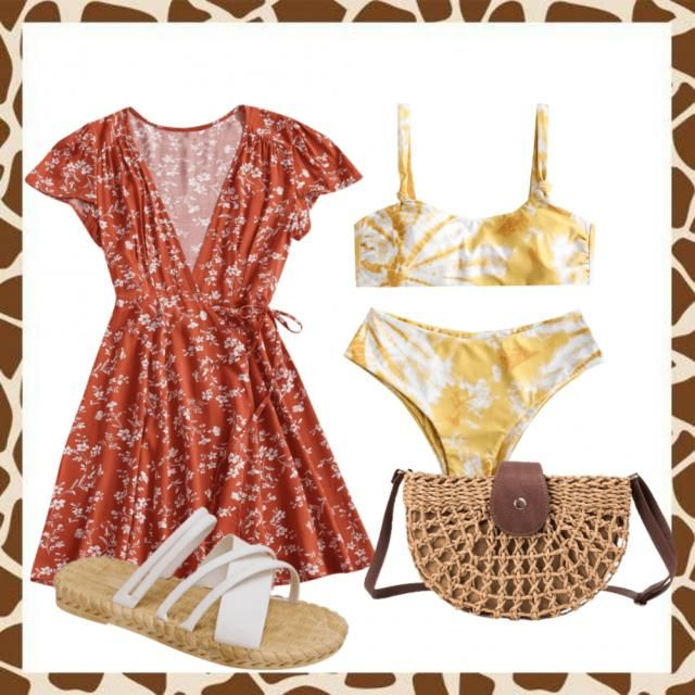 Beach day outfit!