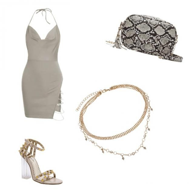 A perfect outfit for a night out with the girls