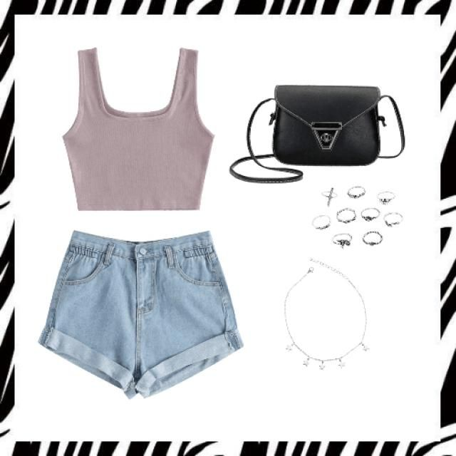 really simple but beautiful you can match it with another jewelery but if you use this shorts or bag make sure that you…