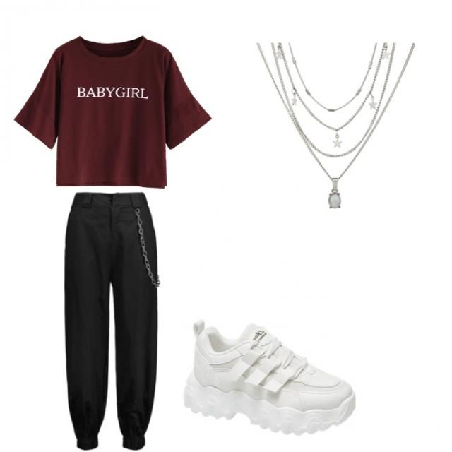 A really simple but cute bum day outfit