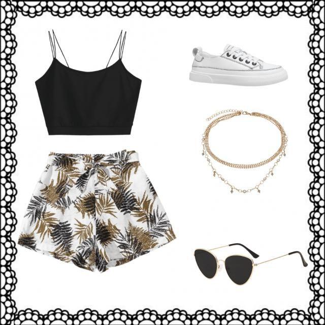Outfit casual para verano