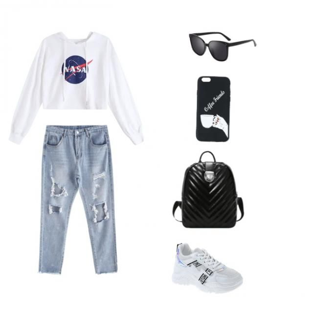 a student look