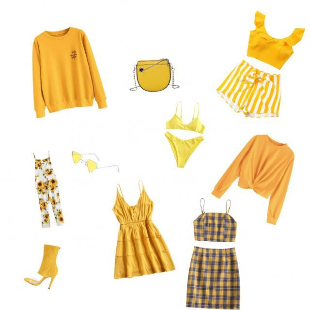 Yellow summer vibes