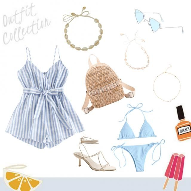 cute beach outfit pt. 2 for all girls 💙