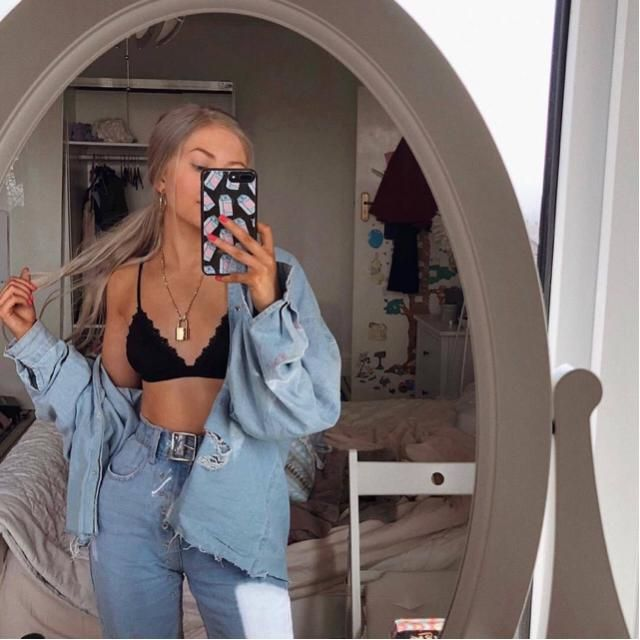 Denim jacket is one of those garments that makes every outfit look more stylish