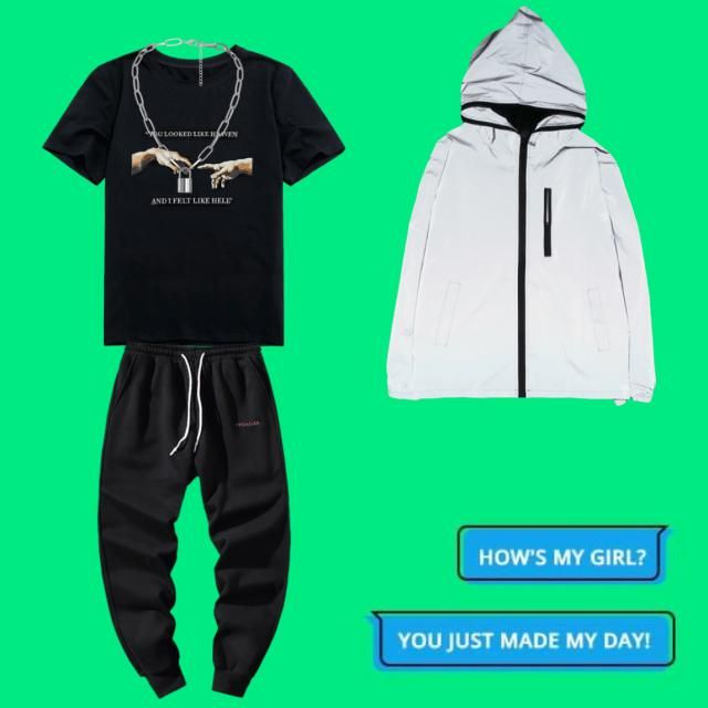 Bad and cute boy clothes