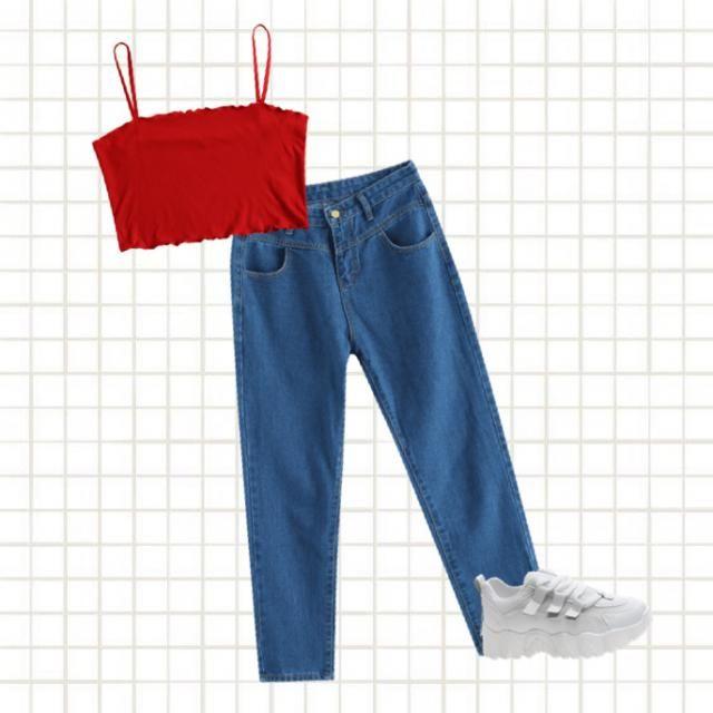 Monica Geller's outfit