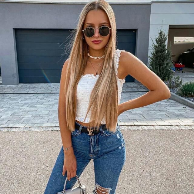 stylish and casual look