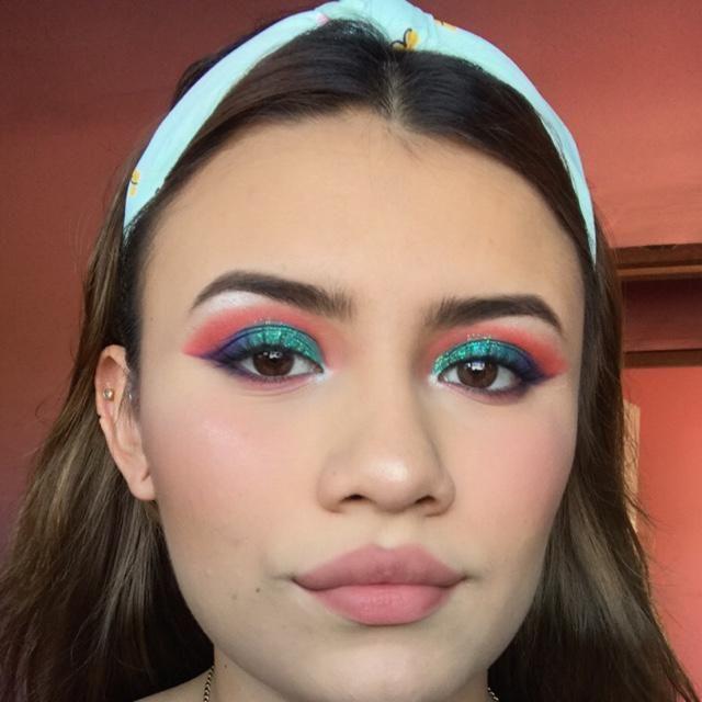 Mermaid Ariel makeup!