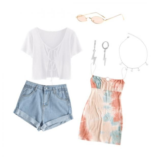 super cute summer fit!! Would totally wear this with friends !