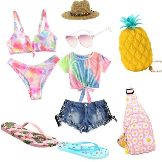 Para disfrutar un clima Tropical,  la playa oh la piscina, con un buen bronceado sexy.