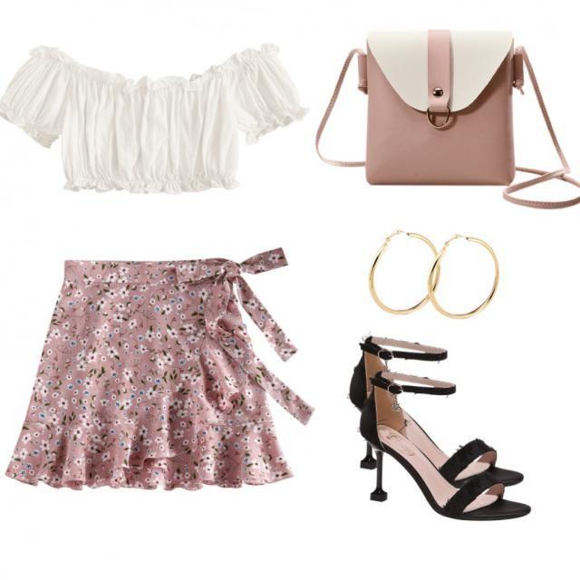 Hi girls!!!❤️  Voici  une petite tenue que je trouve soo cute💕! Vous en pensez quoi ( what do you girls think about …