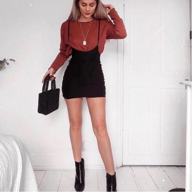 Suspended skirts are so trendy and looks classy