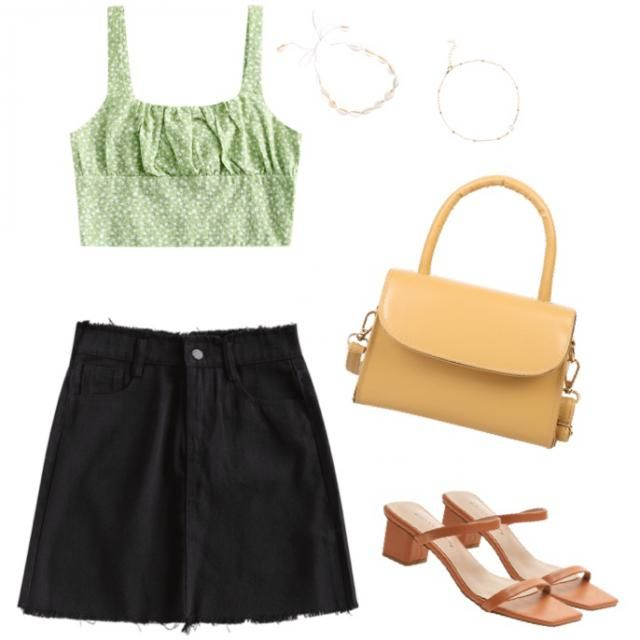 Classy but cute fit for a summer night out in the town.