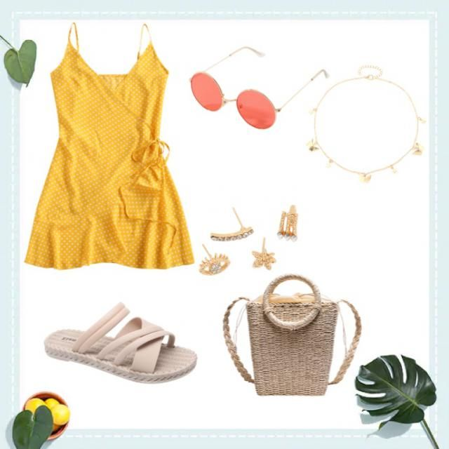 This is a super cute summer outfit
