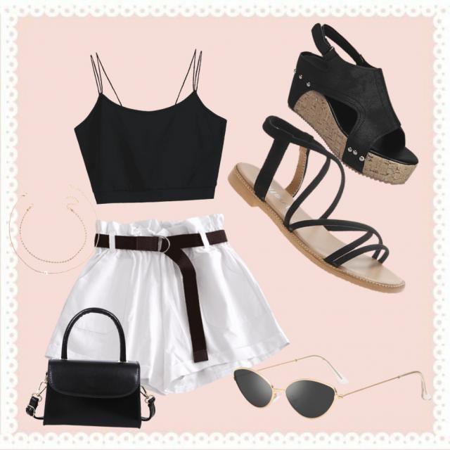Un look nuevo que vi en tik tok y me enamore completamente.Es un look de verano/primavera, muy lindo para salir con ami…